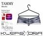 Klepsydra Tammy Shorts - Appliers - Light Blue