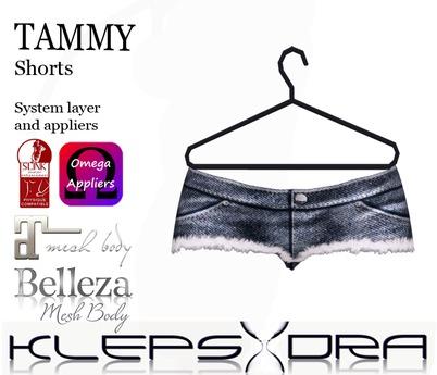 Klepsydra Tammy Shorts - Appliers - Dark Blue