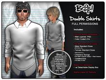 bop! Mesh Double Shirts - Full Permissions