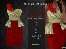 {DD} Valentine Grace Peplum Dress