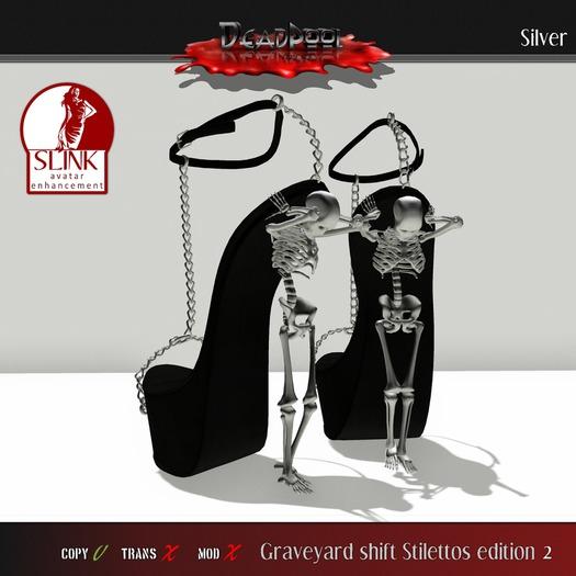 :DEADPOOL: GRAVEYARD SHIFT 2 LIMITIED EDITION (silver)