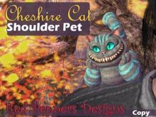 Cheshire Cat Shoulder Pet