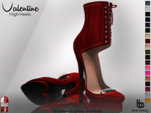 Bens Boutique - Valentine High Heels(Slink High) FATPACK (WEAR)