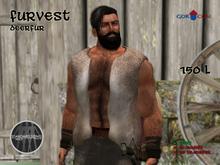 GOR CON Male Fur Vest Deerfur