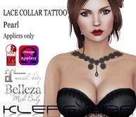 Klepsydra - Lace Collar Tattoo - Pearl-Appliers