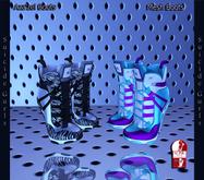 Suicide Gurls - Aza'zel Boots - Zebra