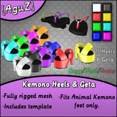 [AguZ] Kemono Heels & Geta