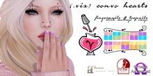 (.vix) Convo Hearts ~ Slink, Maitreya & Omega Nails