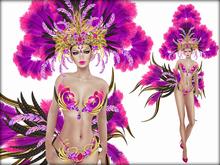 Boudoir-Mistress of Rio Pink/Purple