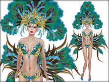 Boudoir-Mistress of Rio Blue/Green