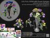 LDG-FULL PERM 988 Flower Epergne /9 parts/91 textures/Builderkit