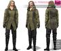 FULL PERM MI Rigged Mesh Men's Medieval Hooded Ranger Full Outfit