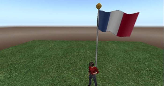 France Flag # 754
