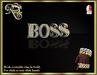 Boss ring gold
