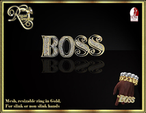 Boss Ring - Gold (boxed)