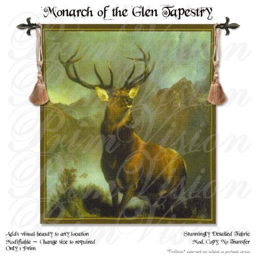 *PV* Monarch of the Glen Tapestry