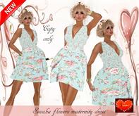 Savoha flower maternity dress SALE