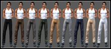 GG-Mens Mesh Chino Pants-Fatpack
