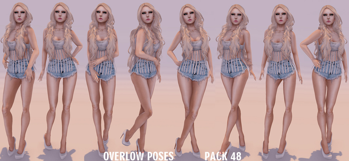 Overlow Poses - Pack 48