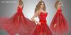 FaiRodis Roses for my lovely mesh + flexi dress red