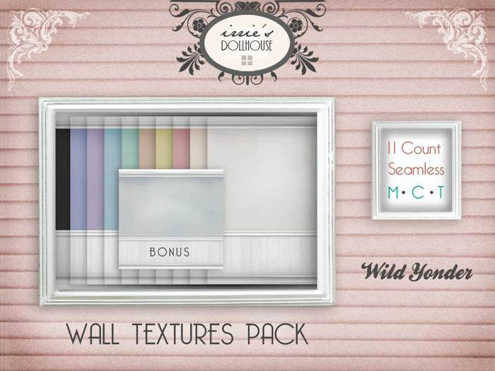 i { DH } Wall Textures Pack *Wild Yonder*
