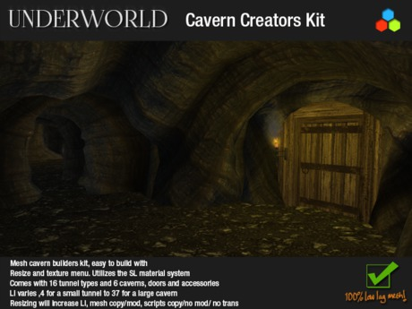 100% Mesh Cavern and Cave Builders Kit