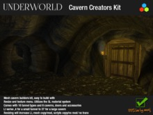 New for 2014 100% Mesh Cavern and Cave Builders Kit