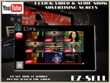 EZ-Sell 1-click Video & Slide Show Advertising Screen