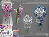 LDG-FULL PERM 987 Lily With Stephanotis & Rose Bouquet Cascade /11 parts/143 textures ver./Builderkit