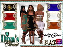 .:::Diva's Closet Sasha Bodycon (Black):::. Omega Appliers