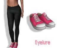 Eyelure Kicks Tennnies  - Hot Pink