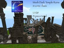 Mesh Temple Ruins building (boxed)