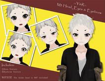 .::Y&R::. M3  Eyes And Eyebrow