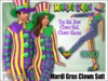 [Phunk] Unisex Mardi Gras Clown Suit
