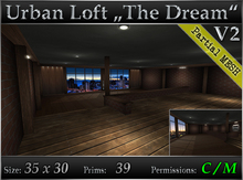 "Urban Loft ""The Dream"" - Loft Skybox - Mesh"