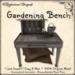[DDD] Gardening Bench
