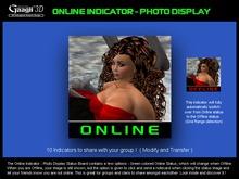 Gaagii - Online Status Indicator - Photo Display
