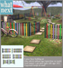 {what next} Rainbow Fence Building Set