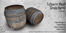 FLECHA Mesh simple barrel fullperm