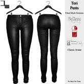 DE Designs - Tori Pants - Black Leather