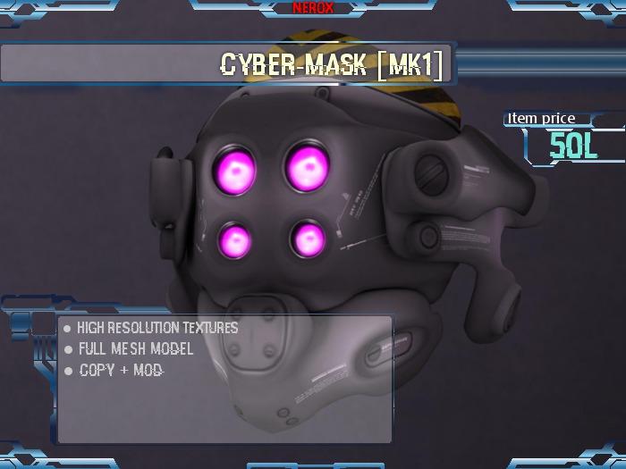 <Nerox> Cyber-mask [mk1]