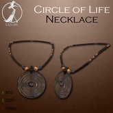 -=UZURI=- Circle of Life Necklace