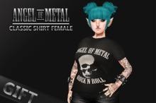.:Angel of Metal:. Classic Shirt Female