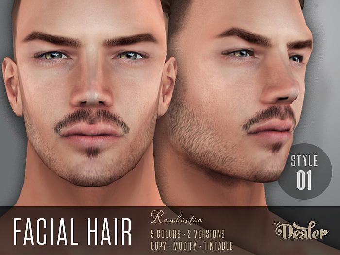 ::DEALER:: Facial Hair STYLE 01