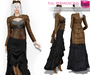 Ad womens steampunk tail coat
