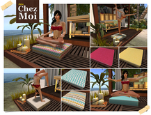 Meditation Cushion Day Spa ♥ CHEZ MOI