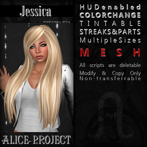 Alice Project - Jessica - Natural Red