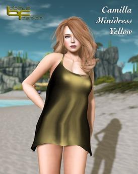 Babele Fashion :: Camilla Minidress Yellow