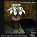 Lilies in Egyptian Urn (white) - Mesh - 4 Prims, Gothic Furniture