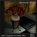 Lilies in Egyptian Urn (Red) - Mesh - 4 Prims Gothic furniture